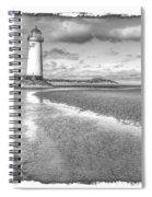 Lighthouse Reflected Spiral Notebook