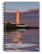 Lighthouse Reflection Spiral Notebook
