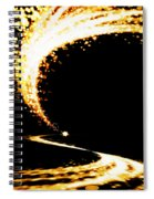 Lighting Explosion Spiral Notebook