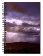Lightning Strikes During A Thunderstorm Spiral Notebook
