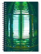 Lightouse Lantern At Portland Lighthouse Spiral Notebook