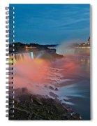 Lights On Niagara Spiral Notebook