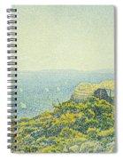 L'ile Du Levant Vu Du Cap Benat Spiral Notebook