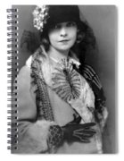 Lillian Gish 1922 Spiral Notebook