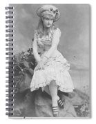Lillian Russell 1882 Spiral Notebook