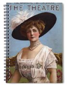 Lillian Russell On Cover Spiral Notebook