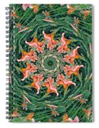 Lilly In Abstract Spiral Notebook