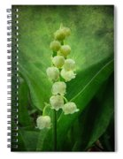 Lily Of The Valley - Convallaria Majalis Spiral Notebook