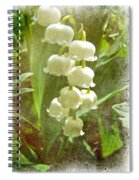 Lily Of The Valley - In White #2 Spiral Notebook