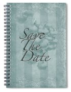 Lily Of The Valley Save The Date Greeting Card Spiral Notebook