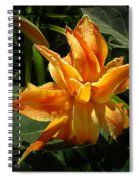 Lily Survival Spiral Notebook