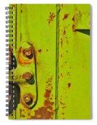 Lime Hinge Spiral Notebook