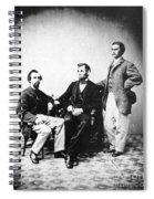 Lincoln & Secretaries, Spiral Notebook