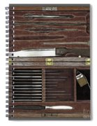 Lincoln Autopsy Kit, 1865 Spiral Notebook