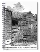 Lincoln Birthplace Spiral Notebook