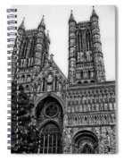 Lincoln Cathedral Facade Spiral Notebook