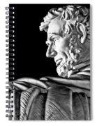 Lincoln Profile Spiral Notebook