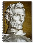 Lincoln Profle 2 Spiral Notebook