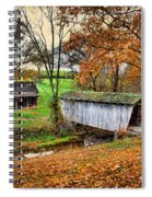 Lincoln's Homestead Spiral Notebook