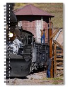 Line Em Up Spiral Notebook