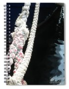Line Reflections Spiral Notebook