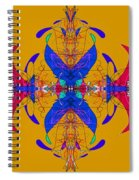 Linear Movement Number 3 Spiral Notebook