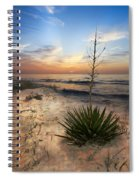 Linger By The Sea Spiral Notebook