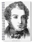 Lionel Nathan De Rothschild Spiral Notebook