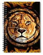 Lioness Face Spiral Notebook