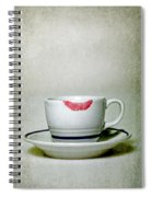 Lip Marks Spiral Notebook