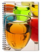 Liquor Glasses Spiral Notebook