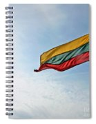 Lithuanian Tricolor Spiral Notebook