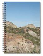 Little Badlands Missouri Panorama1 Spiral Notebook