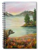 Little Bear Big World Spiral Notebook
