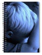 Little Boy Blue Spiral Notebook