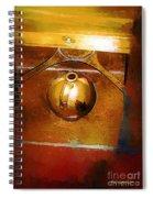 Little Brown Jug Spiral Notebook