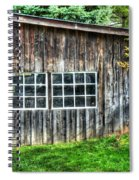 Little Brown Shed Spiral Notebook