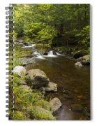 Little Carp River Falls 5 Spiral Notebook
