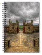 Little Castle Entrance - Bolsover Castle Spiral Notebook