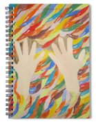 Little Creative  Hands Spiral Notebook