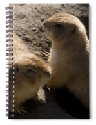 Little Dogs On The Prairie Spiral Notebook