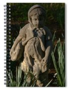 Little Girl Turned To Stone Spiral Notebook