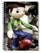 Little Hobo Spiral Notebook