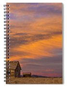 Little House On The Colorado Prairie 2 Spiral Notebook