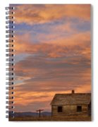 Little House On The Colorado Prairie Spiral Notebook