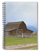 Little Mountain Barn Spiral Notebook