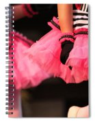 Little Pink Tutus Spiral Notebook