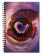 Little Planet - Suburban Sunset Spiral Notebook