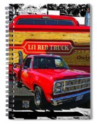 Little Red Express Dbl Hdr Spiral Notebook