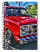 Little Red Express Hdr Spiral Notebook